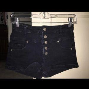 dELiA*s Skylar High Waisted Jean Shorts